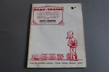W945 BABY TRAINS train catalogue Ho tarif prix magasin 1970 74 pages 27x21,2cm