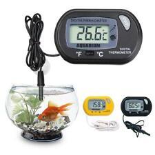 LCD Digital Fish Tank Reptile Aquarium Water Meter Thermometer Temperature b b
