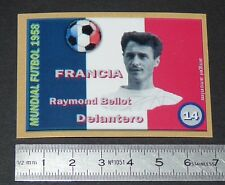 FRANCE RAYMOND BELLOT AS MONACO COUPE MONDE FOOTBALL 1958 STYLE PANINI