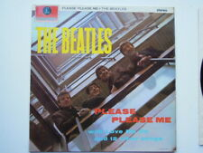 THE BEATLES Please Please Me LP UK 7th Rare Small Stereo Y/B PCS-3042 -1/1 EX !