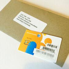 AT&T USA prepaid Nano SIM card- ATT US 3G/4G/LTE, Aust Seller Fast Free Shipping