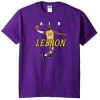 "Lebron James Lakers Los Angeles Lakers ""AIR PIC"" T-Shirt"