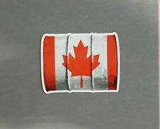"5"" x 4"" Canadian Oil Vinyl Decal Sticker"