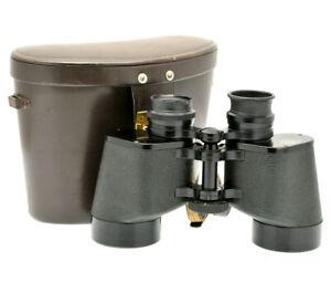 Carl Zeiss 8x50 B Oberkochen (West Germany) Binoculars - Super sharp - Case