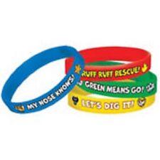 Paw Patrol Party Rubber Bracelets 6 Pieces