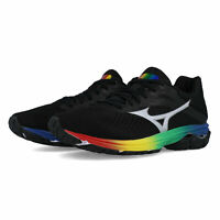 Mizuno Womens Wave Rider 23 Running Shoes Trainers Sneakers - Black Sports