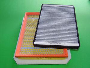 Innenraumfilter, Pollenfilter mit Aktivkohle + Luftfilter Opel Astra H 1.9 CDTI