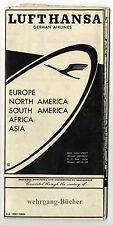 Lufthansa / Sealandair: Stadtplan von Beirut von 1958 (1/20000)
