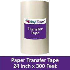 24 In X 300ft Roll Sign Vinyl Paper Application Transfer Tape V0854 Best Value