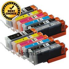 12 Pk PGI-250XL CLI-251XL Gray Ink Cartridge For Canon Pixma MG7120 MG6320 +Chip