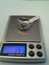 "Bague ""Flaming"" HARLEY DAVIDSON en ARGENT massif 925 sterling SILVER ring NEW"