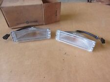 NOS MoPar 1967 1968 Plymouth Fury Park Lamp Pair Left Right Light Set