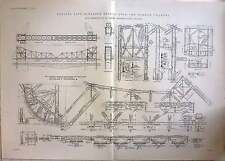 1914 Rolling Lift Scherzer Bridge Over Pamban Channel