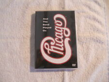 """Chicago """" And The Band Played On """" Rare Japan DVD Reprise Warner WPBR-90093 New"""