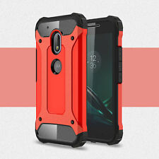 Antichoque TPU+PC 2in1 Funda Híbrida Para Motorola Moto G4/G4 Plus/G4 Play