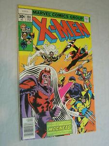 X-Men #104 VG+ New X-Men VS Magneto WOW