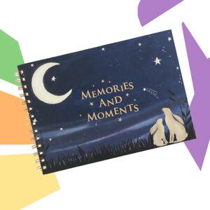 Baby Record Book Hardback Baby Memories Keepsake Gift Look At The Stars