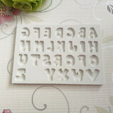 Alphabet Letter Silicone Biscuit Cookie Cutter Mold Cake Decorating Fondant Mold