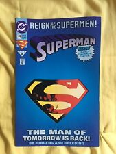Lot of Four Superman Comics Reign of the Superman (DC, 1993)