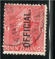 NEW ZEALAND STAMPS OFFICIAL  CANCELED USED     LOT 39191