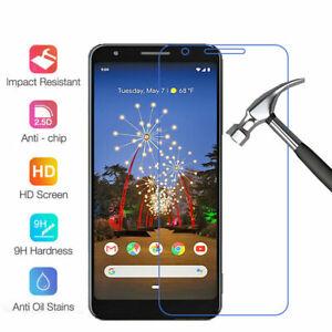Tempered Glass Screen Protector Saver For Google Pixel 6 5a 4 XL 3 XL 3A XL 3XL