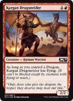MTG x4 Kargan Dragonrider Core Set 2019 M19 Common Red Magic the Gathering NM/M