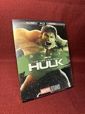 The Incredible Hulk Blu-Ray No Digital Phase One W/ Slipcover
