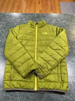 THE NORTH FACE GUNNISON GREEN UNISEX BUBBLE JACKET LARGE (14-16)
