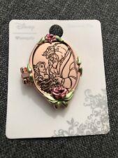 Disney Loungefly Princess Beauty and The Beast Enamel Locket Pin Rare
