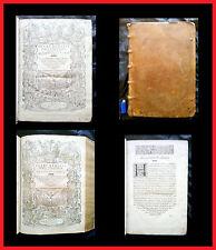 """REBUFFI: """" Tractatus Varii 1581 (1°ed) + Repetitiones Variae 1583 (1°ed) """" Juris"""