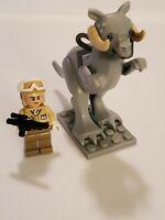 LEGO Star Wars Tauntaun Taun Taun Hoth Rebel Trooper Minifigure Lot 7749