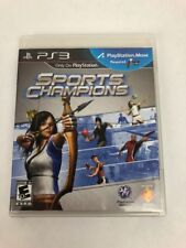 Sports Champions (Sony PlayStation 3, 2010) Mint Disc fast Free Fast Class Ship