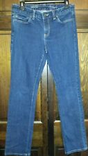 TOMMY HILFIGER Women's Classic Straight Fit Denim Jeans  Size 8R