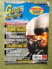 Rivista TGM The Games Machine nr. 204 Gennaio 2006 Videogiochi PC Quake Wars