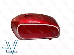 Fits For BMW 75/5 Cherry Painted Aluminum Fuel Gas Petrol Tank 1972 Model @Vi