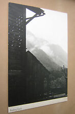 """LARGE ORIGINAL PHOTOGRAPH """"BREAKING CLOUDS"""" c1960s B&W ON BOARD. 15"""" x 11"""""""