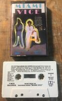 Miami Vice Music from the Television Series - Cassette Tape