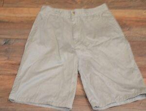 Boys Zone One Khakis Shorts  School Wear Size 14 Uniform Shorts