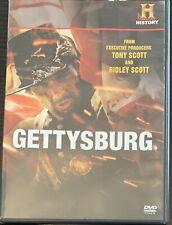 Gettysburg (DVD,2011) Ridley Scott