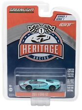 1:64 GreenLight *FORD GT RACING HERITAGE* 2017 Ford GT *1966 TRIBUTE BLUE #1*