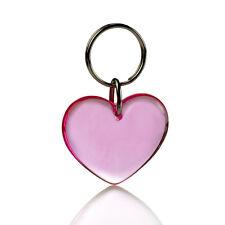 Gadget portachiavi forma di CUORE x avis innamorati cardiologia Light pink ROSA