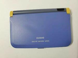 CASIO JD-6000 SECRET SENDER 6000 ELECTRONIC COMMUNICATOR ORGANIZER CALCULETOR