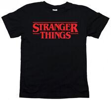 Maglietta t-shirt serie tv STRANGER THINGS - cotone 100% alta qualità