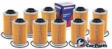 Oil Filter VZ VE VF V6 Holden Commodore 2004-2016 ACDelco 10 Pack genuine AC088