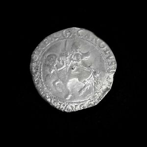 Hammered Charles I Silver Halfcrown