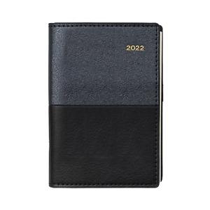 2022 Diary Collins Vanessa B7R Week to View Black 355.V99