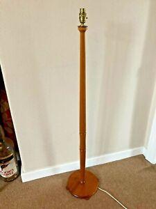 Vintage Mid Century Teak Floor / Standard Lamp.