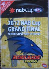 AFL DVD 2012 NAB Cup Adelaide Crows Grand Final, Genuine R4 Australian DVD