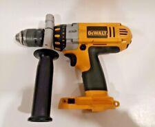 "Dewalt DC930 14.4V XRP 1/2"" Hammer Drill/Driver - With Handle - TESTED -"