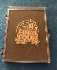WOMEN'S FINAL FOUR PRESS PIN 2006 BOSTON MARYLAND NCAA FREE SHIP BIN USA ONLY